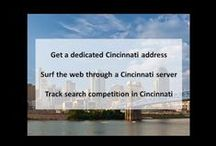 Cincinnati OH Private Proxies / Cincinnati is a city in and the county seat of Hamilton County, Ohio, United States.