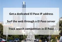 El Paso TX Private Proxies / El Paso is the county seat of El Paso County, Texas, United States, and lies in far West Texas. In 1659, Fray Garcia de San Francisco, established Our Lady of Guadalupe Mission of El Paso del Norte.