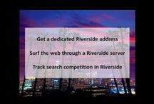 Riverside CA Private Proxies / Riverside is a city in Riverside County, California, United States, located in the Inland Empire metropolitan area. Riverside is the county seat of the eponymous county and named for its location beside the Santa Ana River.