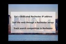 Rochester NY Private Proxies / Rochester is a city on the southern shore of Lake Ontario in the western portion of the U.S. state of New York, and the seat of its Monroe County.
