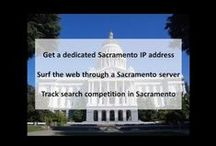 Sacramento CA Private Proxies / Sacramento is the capital city of the U.S. state of California and the seat of government of Sacramento County. It is at the confluence of the Sacramento River and the American River in the northern portion of California's expansive Central Valley.