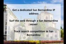 San Bernardino CA Private Proxies / San Bernardino is a city located in the Riverside-San Bernardino metropolitan area. It serves as the county seat of San Bernardino County, California, United States.