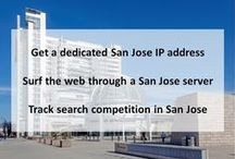 San Jose CA Private Proxies / San Jose is a large city surrounded by rolling hills in Silicon Valley, a major technology hub in California's Bay Area. The downtown historic district is known for its architectural landmarks.
