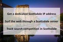 Scottsdale AZ Private Proxies / Scottsdale is a city in the eastern part of Maricopa County, Arizona, adjacent to the Greater Phoenix Area.