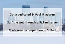 St. Paul MN Private Proxies / Saint Paul is the capital and second-most populous city of the U.S. state of Minnesota. As of 2014, the city's estimated population was 297,640.