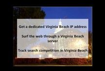 Virginia Beach VA Private Proxies / Virginia Beach, a coastal city in southeastern Virginia, lies where the Chesapeake Bay meets the Atlantic Ocean. A 3-mile boardwalk stretches along its beach-lined oceanfront.