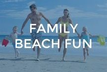 Family Beach Fun / Beach fun for the whole family!