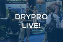 DRYPro Live! / The DRYPro team out at conferences and conventions showing what DRYPro can do!