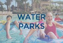 Water Parks / Water parks are no fun without getting wet! And you can't get wet with a cast without DRYPro!