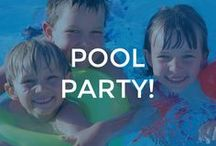 Pool Party Ideas / Don't let a cast or bandage stop the pool party! Get a DRYPro cast cover and keep the party going!