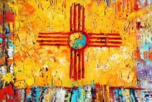 New Mexico Land of Enchantment / For all those that love New Mexico and for those that must come. Rich in history, beautiful scenery, amazing food,  the bluest skies, outstanding art and comes with three cultures.   / by Nancy Friedman