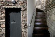 hallways and stairs / by arrietta gatty