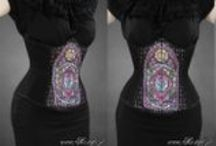 Prints for corsets made by me