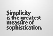 Simplicity is ...