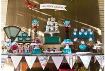 Precious Cargo Baby Shower / Precious Cargo Vintage Travel Baby Shower by I Heart to Party