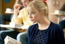 Emma Stone as Gwen Stacy. / aka my style and person inspiration