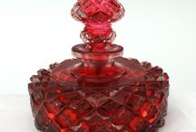 Kristall & parfymflaskor