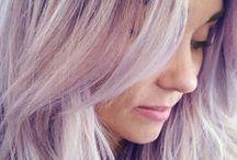 Pastel kleuring / Een bord vol inspiratie met de mooiste pastel haarkleuringen. Laat je inspireren!