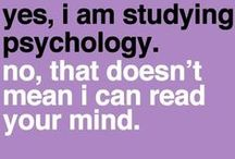 Psychology Related / by Gracie Caine