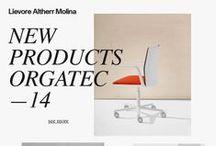 Orgatec 2014 / New products for Arper, Tecno, Enea, Sellex, Forma 5, Andreu World