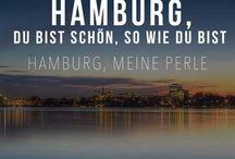 Hamburg !!! ⚓️ / Moin Moin unsere Stadt heißt Hamburch !!! Unsere Perle und die schönste Stadt der Welt. Nirgendwo strahlt der Himmel so schön grau, denn unser Zuhause ist wo der Telemichel steht. So nu aber Butter bei die Fische und viel Spaß beim pinnen. Hummel Hummel - mors mors  und in unserem Hamburch sagt man tschüüüüsss.