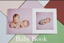 BABY BOOK / This book is a perfect solution for Professional Portrait Photography. Thanks to the endless possibilities of personalization it is suitable for newborn, pets, family and boudoir.