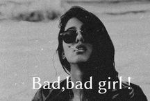 Bad Girls !!! / Bad Girls with attitudes. apply the Pinterest Rules. Please with taste and no visible nudity.