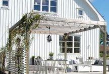 Rum på utsidan / Uterum, altan, grillplats, utemöbler