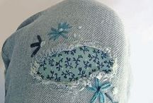 Jeans på längden och tvären