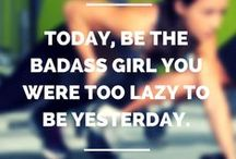 Fitness Motivation / Gym, Crossfit, Yoga - motivational quotes and funny memes.
