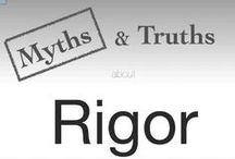 Rigor, depth, complexity