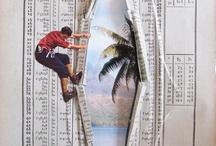mixed media/collage / by Deborah Gorton