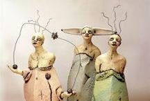 art dolls and figurative sculptures