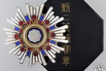 Asian Orders, Decorations & Medals
