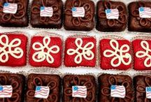 The All- American Treat / Celebrate America with our Patriotic- Themed Treats!