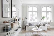 For the LOVE of Decor... / Pretty decor ideas ~ white, neutrals, textures, comfort.