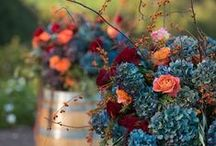 Fall Wedding Inspiration / Crisp air, colorful leaves, a warm cozy fire... what else could you want for your wedding?