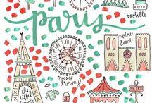 Paris / Paris (home!), rues, endroits célèbres ou insolites