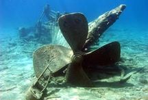Shipwrecks / Did you know prehistoric sites, shipwrecks, and naval battlefields are protected by our national marine sanctuaries? This board will help you explore some of these shipwrecks. Learn more by visiting  http://sanctuaries.noaa.gov/maritime/welcome.html