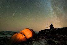 Night & Lights / Clair-obscur, contraste ombre/lumière, ciels étoilés et cosmos