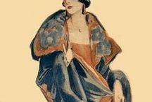Années folles / Illustration, photos et modes des années 1920 - France et USA