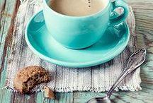 Thé, café, chocolat / Hot drinks and good stuff...