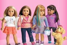 American girl / I love American girl so much so I thought of getting Pinterest to share my American girl dolls with you❤️ / by Maggie🎀