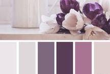 Purple color / В системе красный-зелёный-синий фиолетовый — цвет 3-го порядка (между синим и пурпурным), его можно охарактеризовать, как сине-красно-синий.