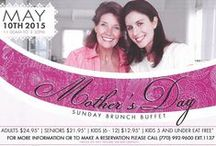 Celebrate Mom in Roswell GA / It's the one day of the year to show the favorite woman in your life, be she your mom, wife, sister, or significant other, just how much you love her.