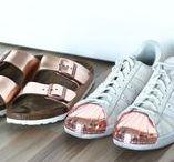 Metallic Obsession - Sneakers, Birkenstocks etc