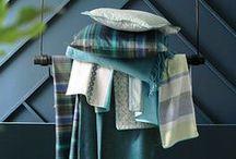 [INSPIRATION] BLEU PAON / Découvrez la nouvelle collection Blanc des Vosges automne hiver 2016.