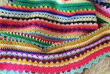 crochet afgans, assorted / by Sonia Duxbury