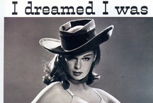 Collage Inspiration/Vintage Women's Ads
