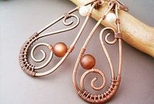 Wire wrap jewelry / by Renee Thomas